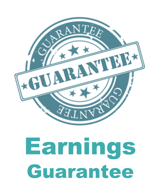 Earnings Guarantee approved students starting a bookkeeping business