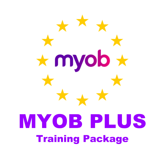 National Bookkeeping MYOB PLUS Training Courses Package